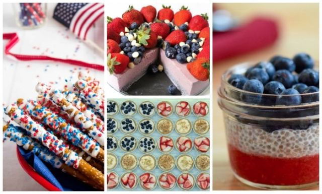 Team USA dessert recipes and and more fun festive recipes for the Olympics