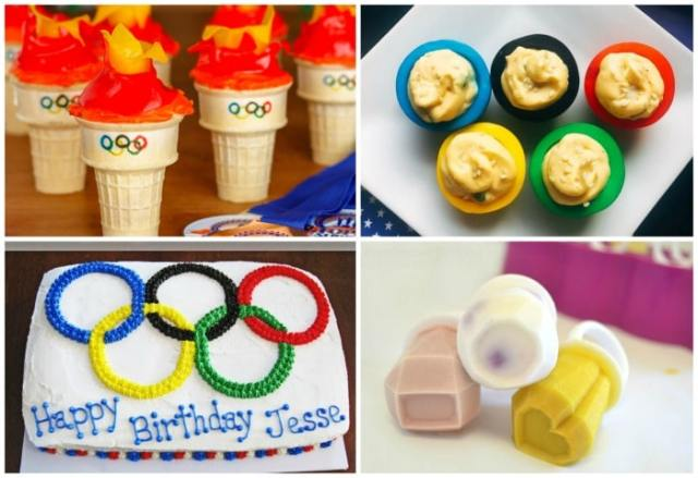 Torch cupcakes, Olympic ring deviled eggs, and more fun festive recipes for the Olympics