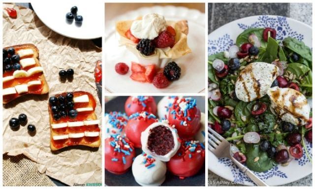 USA flag toast, red velvet truffles, and more fun festive recipes for the Olympics