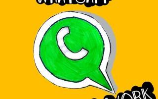 Whatsapp per il lavoro