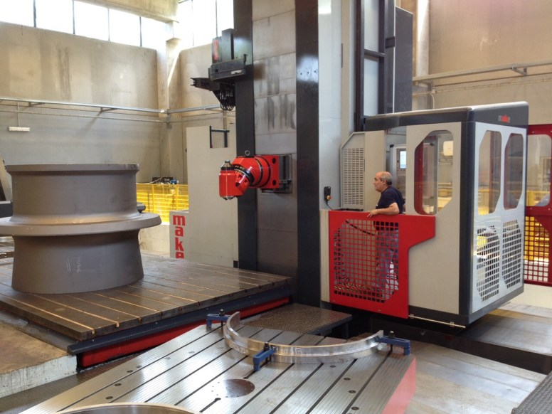 Ausbohrmaschine - Bohrmaschine CNC MAKE