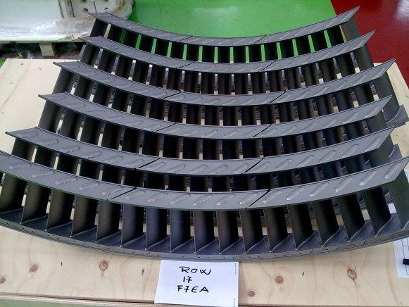 Anelli compressori - settori