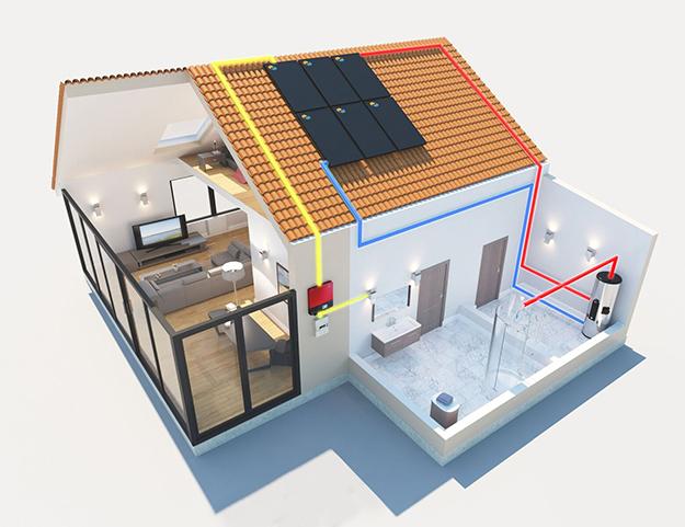 panneaux solaire hybride