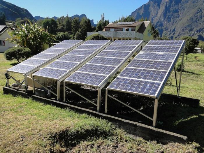 panneaux solaires occasion