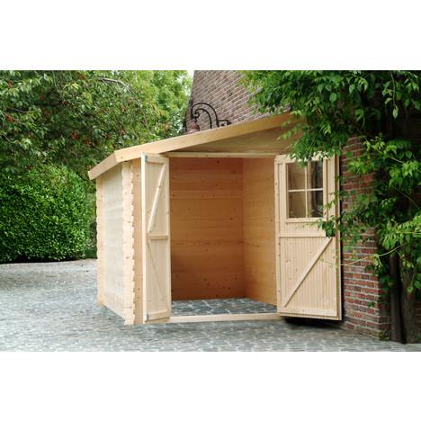 abri de jardin bois 10m2
