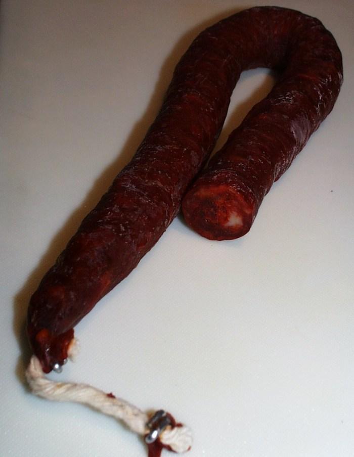 ingredient du chorizo
