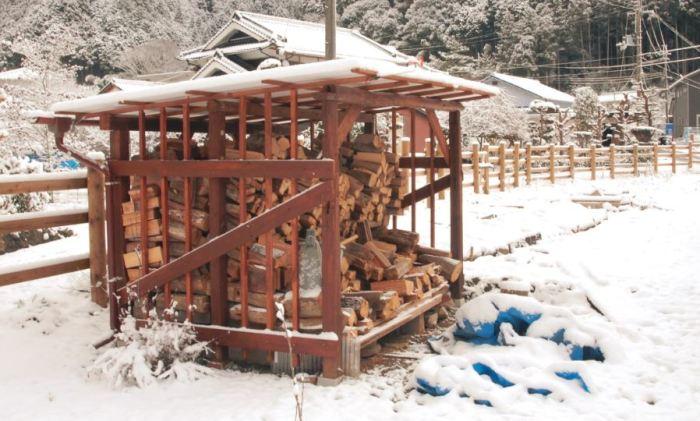 construction abri a bois