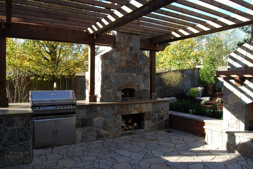 barbecue design exterieur