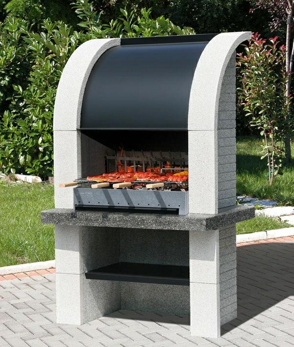 barbecue fixe de jardin
