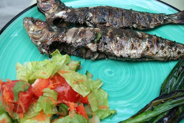barbecue sardines