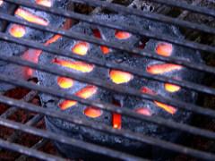 briquette barbecue