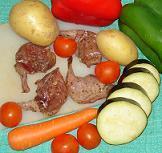 brochette de canard barbecue