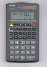 calculatrice sur ordinateur