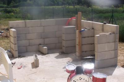 construction d un barbecue exterieur