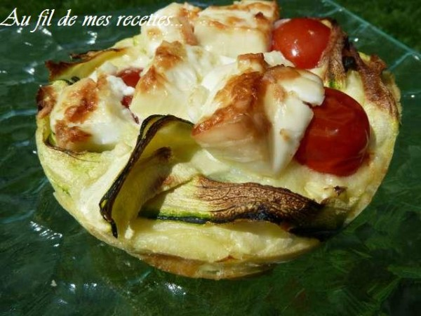 courgette grillée barbecue