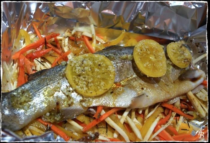 filet saumon barbecue
