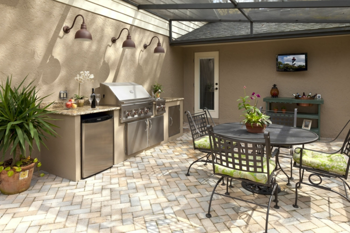 idee barbecue exterieur