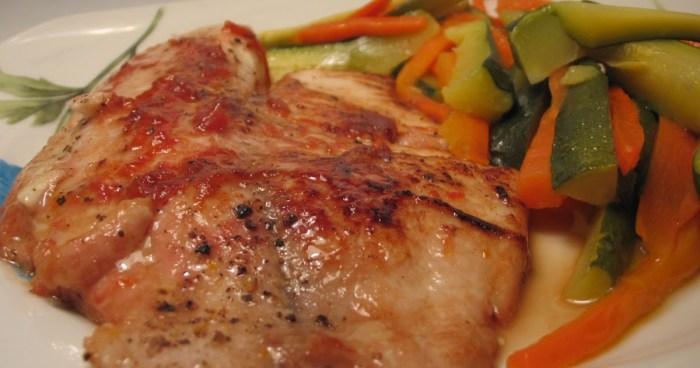 recette barbecue poisson grillé
