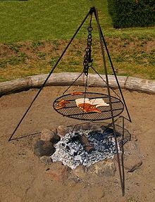set barbecue