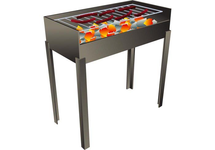 set pour barbecue