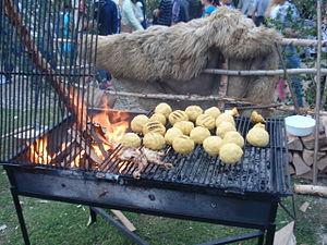 truite au barbecue