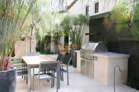 barbecue grill garden