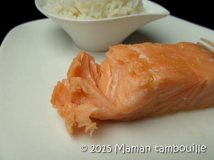 recette saumon au four