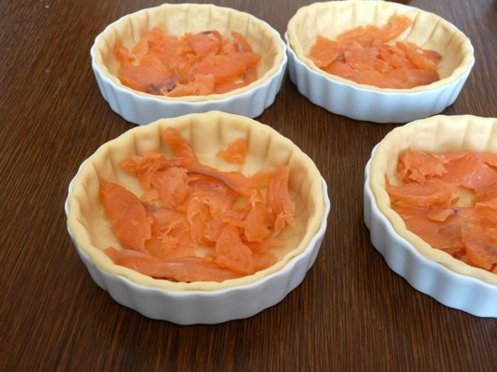 saumon au four crème fraîche