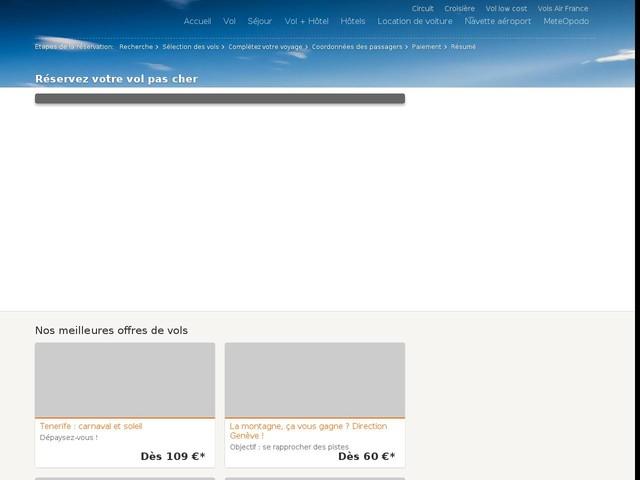 comparateur de prix vol d'avion