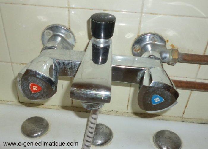 changer un mitigeur de baignoire