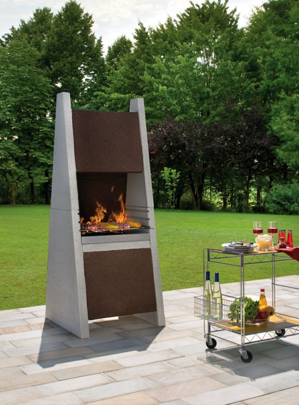 outdoor barbecue design ideas