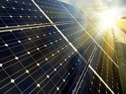 panneaux solaire monocristallin rendement