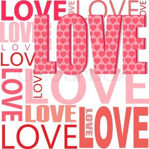 pinceles texto amor