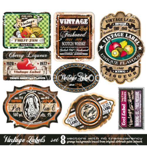 vectores vintage