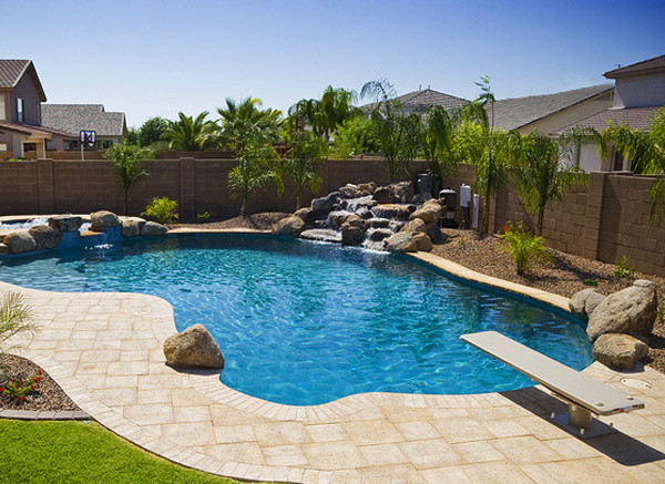 Backyard Pool Landscaping Pictures   Pool Design Ideas on Backyard Pool And Landscaping Ideas id=60706