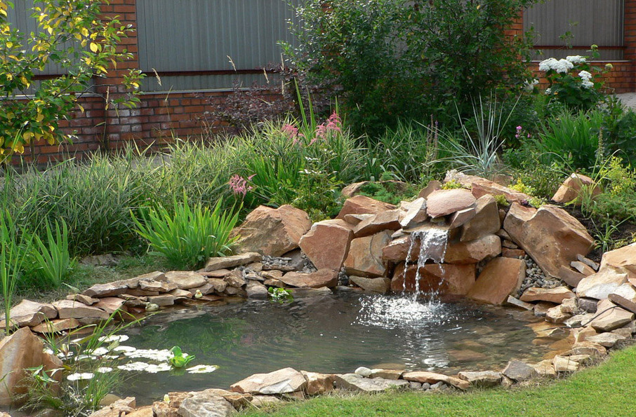 Pictures Of Small Garden Ponds And Waterfalls | Pool ... on Small Backyard Pond  id=89761