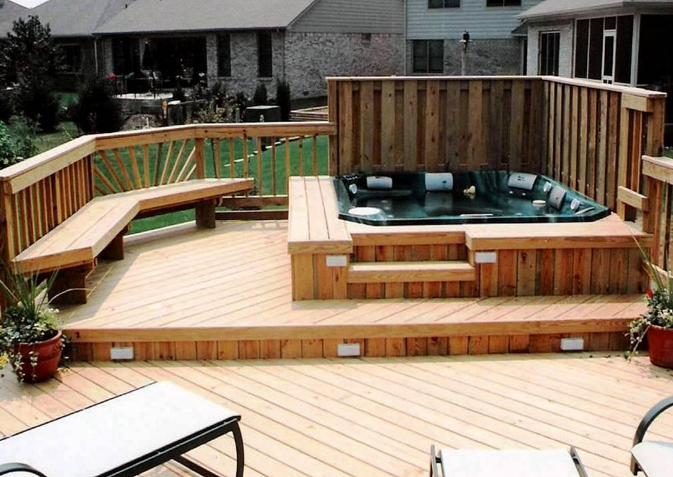 Hot Tub Decking Ideas | Pool Design Ideas on Deck And Hot Tub Ideas  id=19549