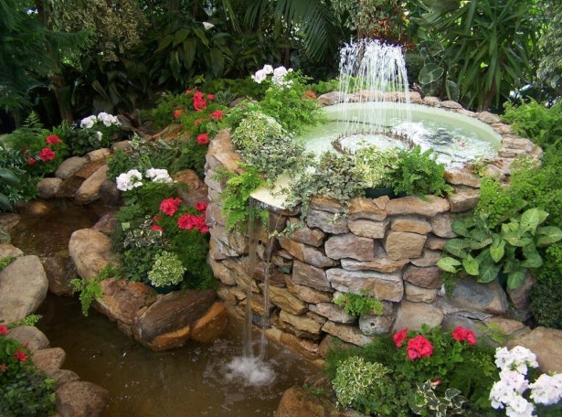 Small Waterfall Ideas to Make Your Garden Very Attractive ... on Small Pond Waterfall Ideas id=88508