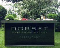 Inklapbaar buffet Restaurant Dorset