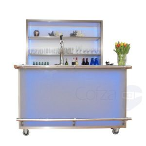 Luxe mobiele LED bar |