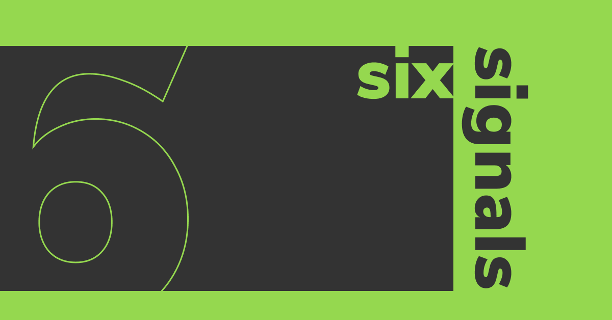 Six Signals logo.