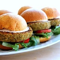 Hamburger-vegano