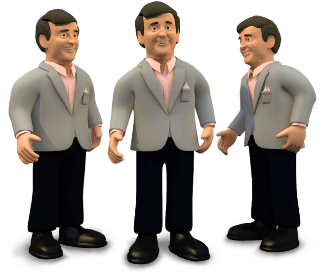 3D Terry Wogan