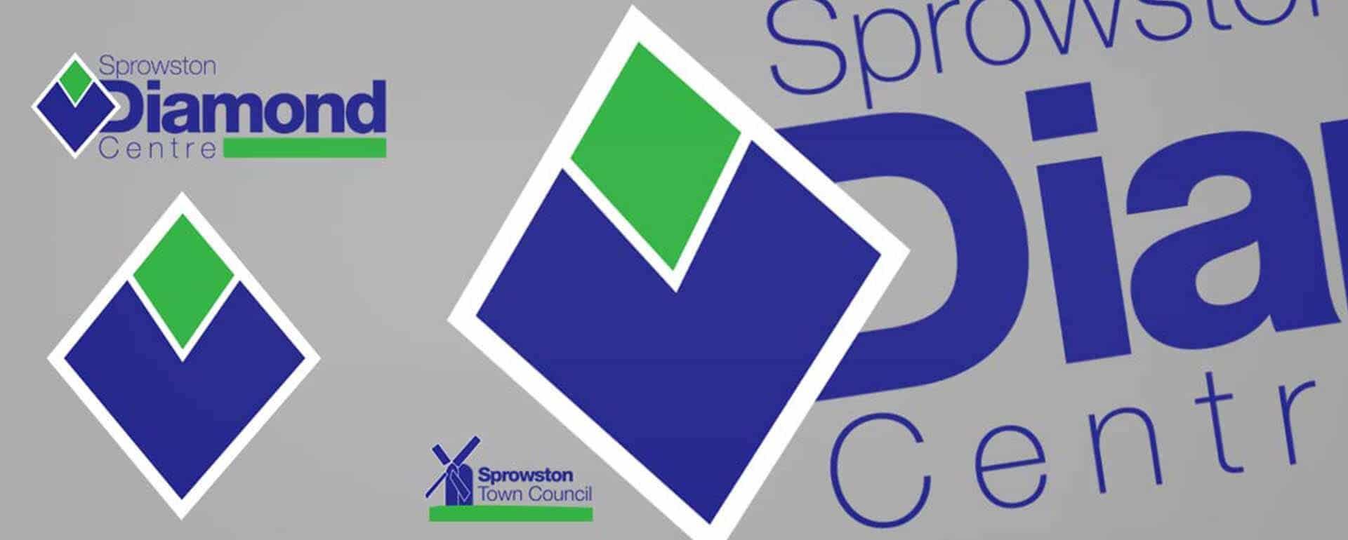 Diamond Centre Sprowston Logo Design