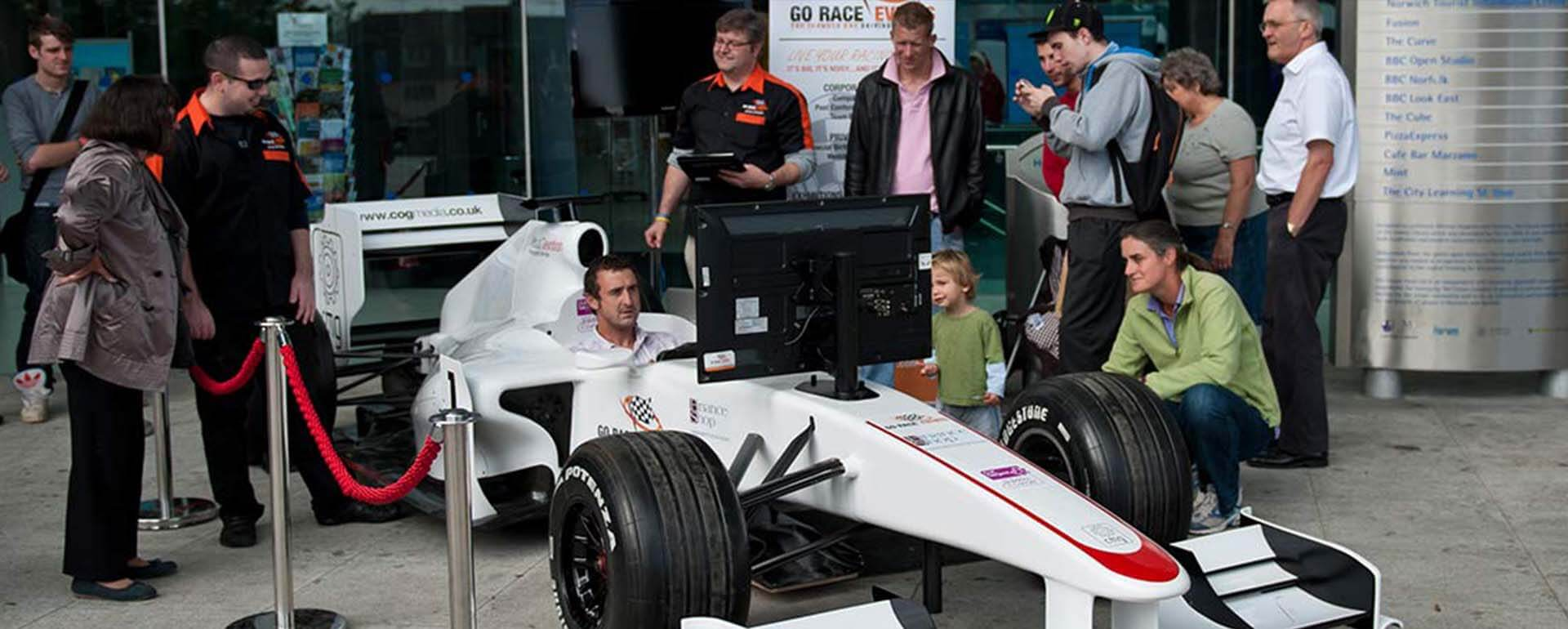 Go Race Events F1 Simulator