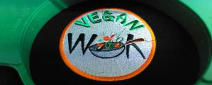 Norwich Vegan Takeaway Vegan Wok Logo Embroidery