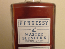Hennessy master blender bottle