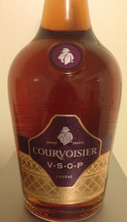 courvoisier vsop bottle