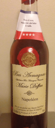 Armangnac bottle