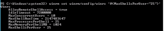 Winrm users